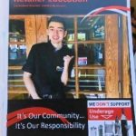 We Don't Support Underage Use Campaign Brochure